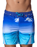 Clever 0638 New Zealand Swimsuit Brief Blue