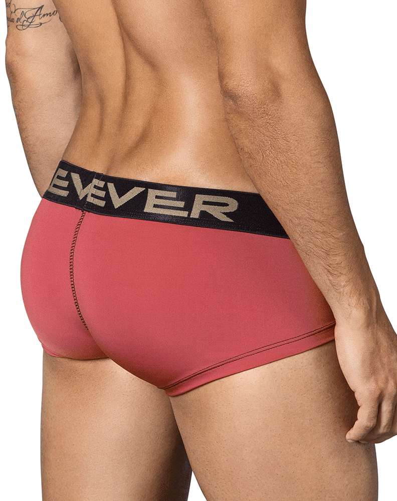 Clever 2325 Emoji Latin Boxer Briefs Red