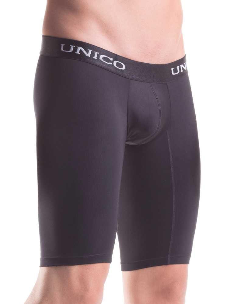 Mundo Unico 1200100399 Intenso Microfiber Boxer Brief Black 15""