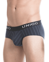 Mundo Unico 1400050382 Briefs Paralelo Cotton Black