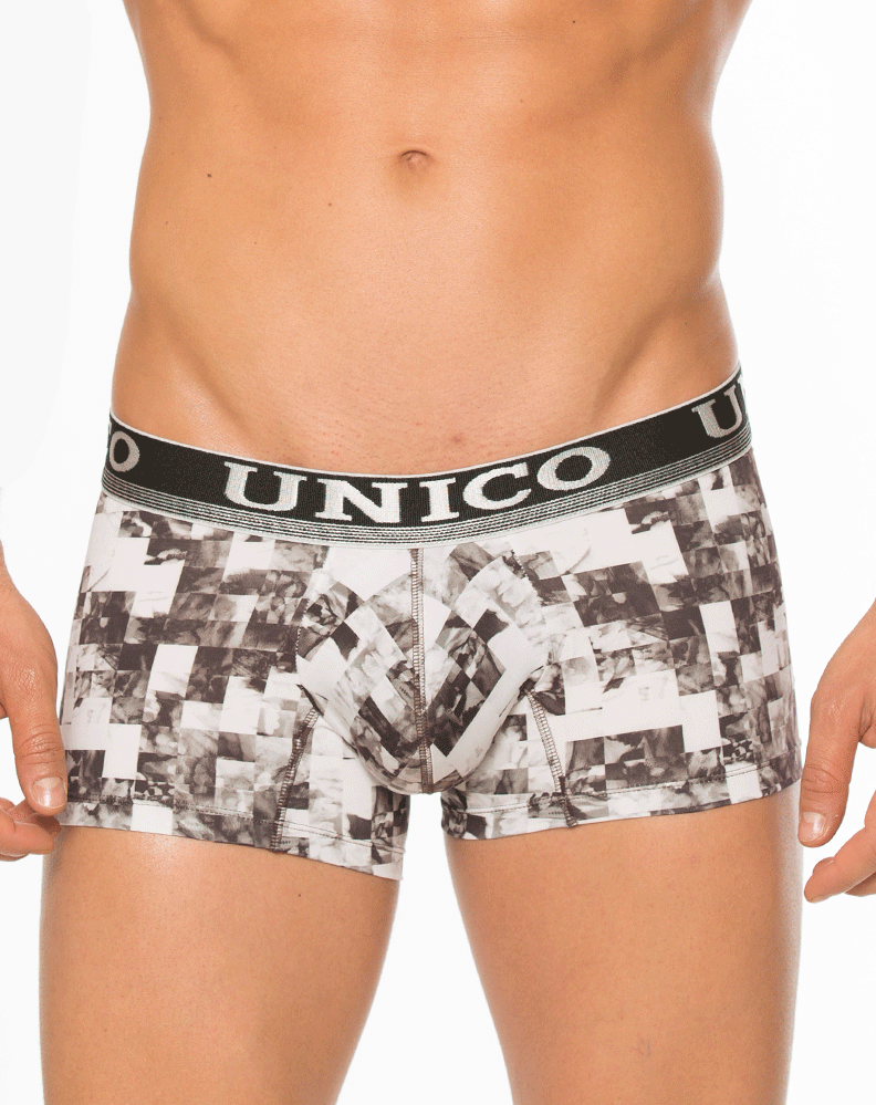 "UNICO 1730083929 Boxer/Trunk Microfiber 7"" Chango Multi"