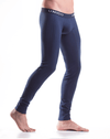 Mundo Unico 9610110182 Long Johns Profundo Cotton Blue