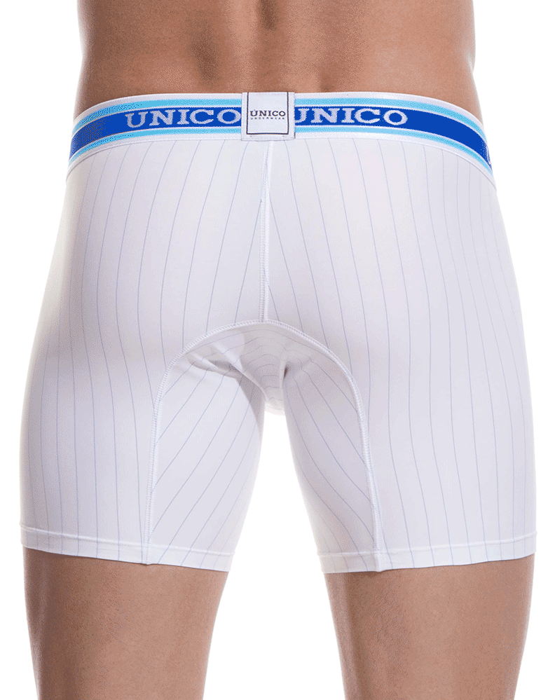 Unico 1801010020100 Boxer Briefs Calm White 10""