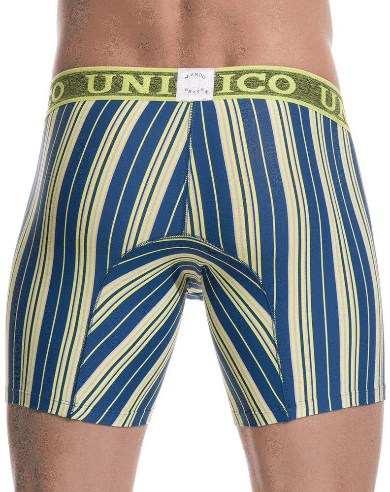 "Unico 1801010022030 Boxer Briefs Dalai Multi 10"" - StevenEven.com"