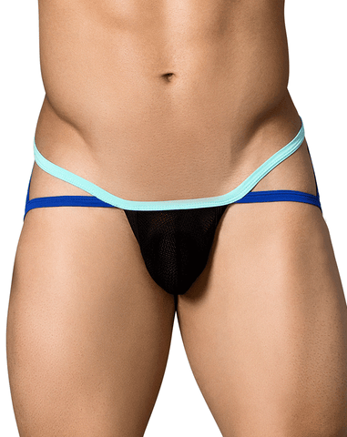 Candyman 99282 Hard Candy Jockstrap Black