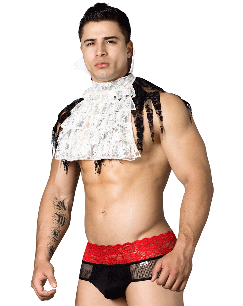 Candyman 99291 Vampire Costume Outfit Multi-colored