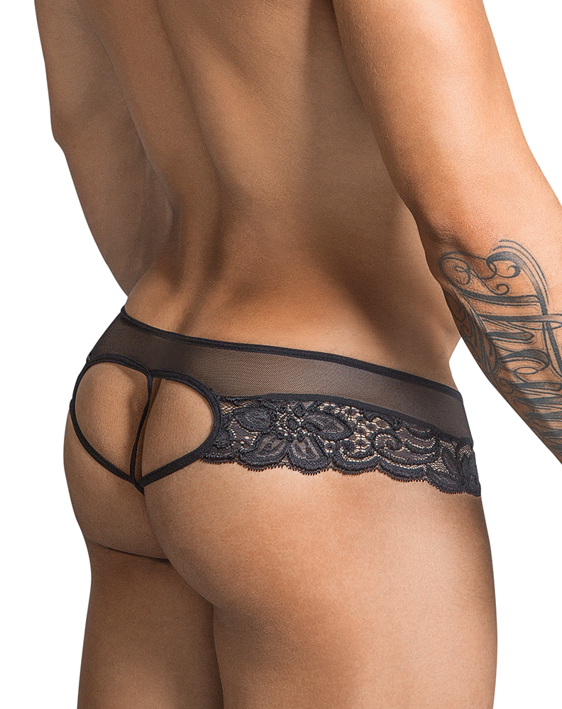 Candyman 99299 Thongs Black