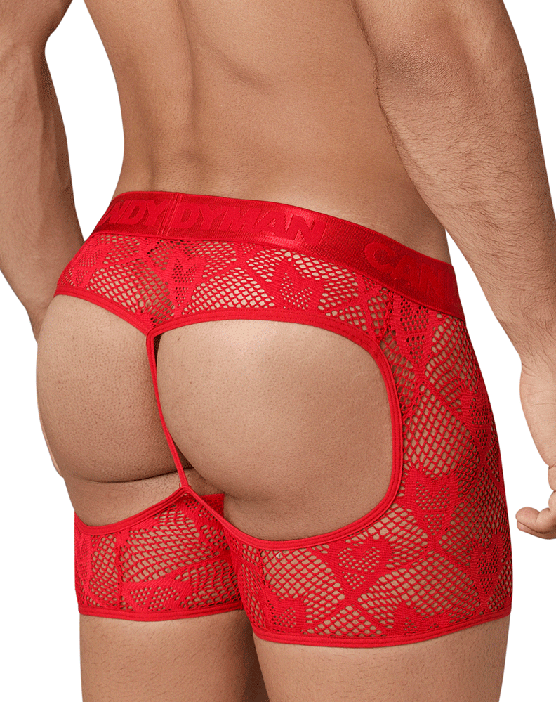Candyman 99346 Boxer Briefs Red