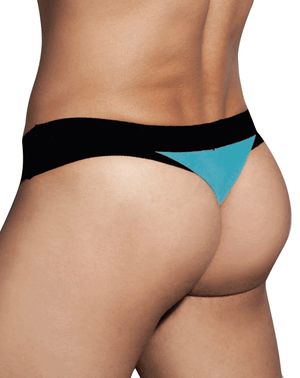 Doreanse 1258 Warrior Thong String Black/Turquoise