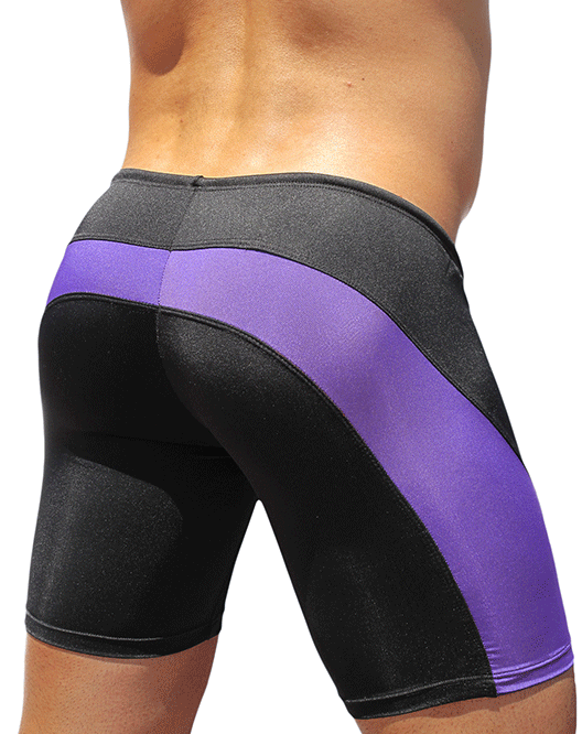 ERGOWEAR EW0252 Feel Swimsuit Black/Purple - Steveneven.com