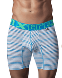 Xtremen 51411 Sport Performance Breathable Boxer Briefs Turquoise
