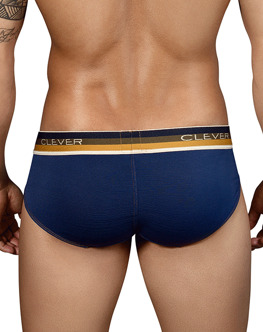 CLEVER 5314 Lines Latin Briefs Blue - Steveneven.com