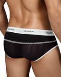 CLEVER 5317 Sweetness Piping Briefs Black - Steveneven.com