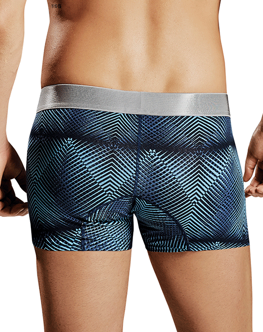HAWAI 41627 Boxer Briefs Blue - Steveneven.com