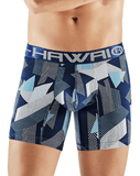 Hawai 41702 Boxer Briefs Blue - StevenEven.com