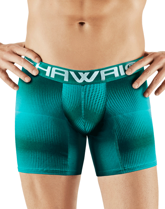 Hawai 41703 Boxer Briefs Green - StevenEven.com