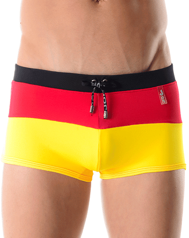 Jor 0018 Swimsuit Boxer British