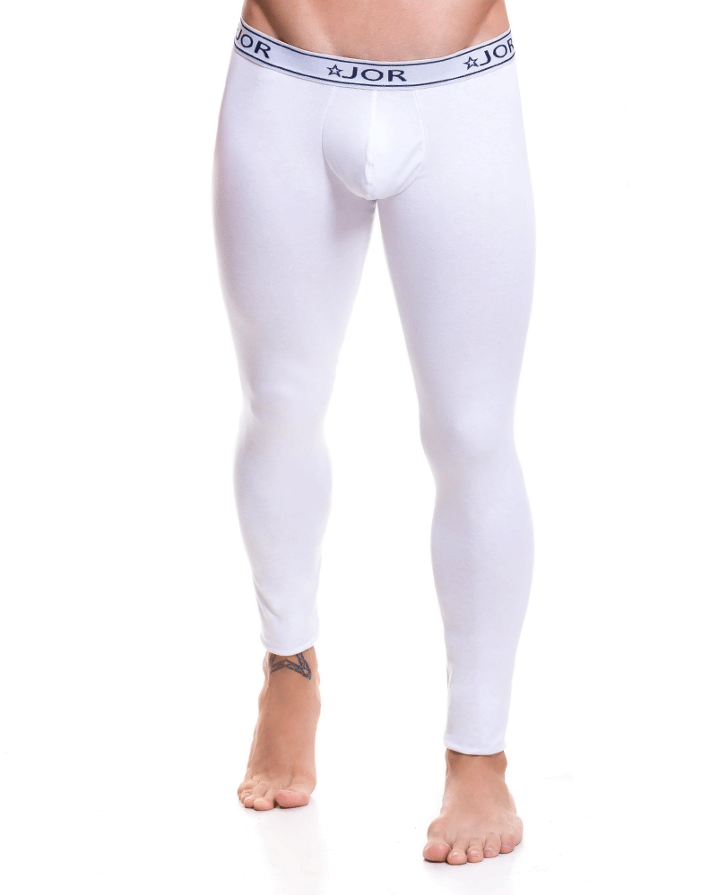 Jor 0451 Life Long Johns White