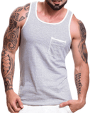Jor 0512 Monaco Tank Top Gray