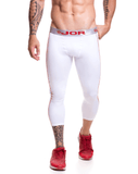 Jor 0516 Active Athletic Pants White