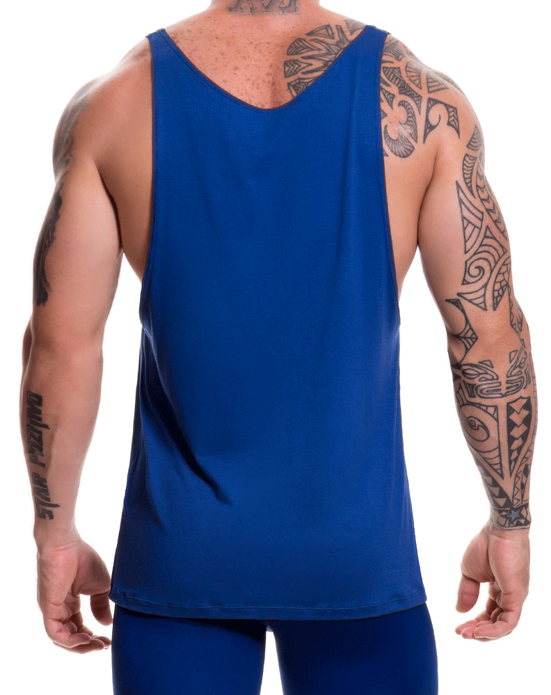 Jor 0517 Game Tank Top Blue