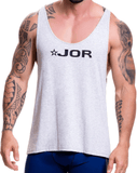 Jor 0517 Game Tank Top Gray
