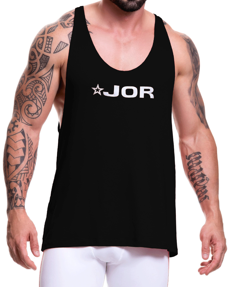 Jor 0517 Game Tank Top Black