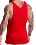 Jor 0517 Game Tank Top Red
