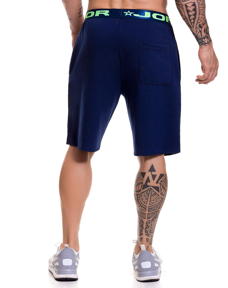Jor 0520 Match Athletic Shorts Blue - StevenEven.com