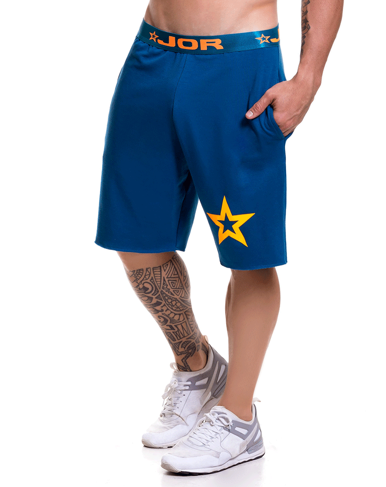 Jor 0520 Match Athletic Shorts Petrol - StevenEven.com