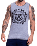 Jor 0521 Animal Tank Top Gray