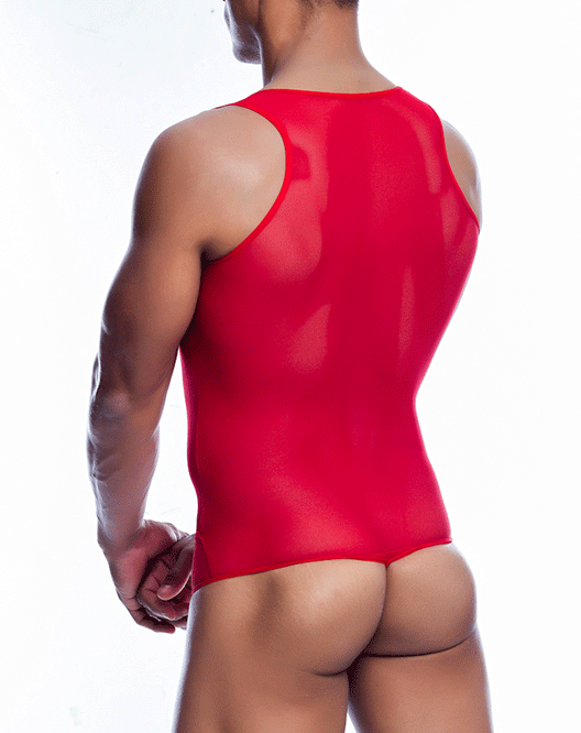 MALE BASICS MBL09 Sexy Body Red - Steveneven.com