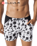 CLEVER 0603 Shark Swimsuit Trunk Black