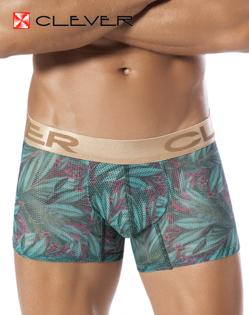 CLEVER 2263 Flowery Touch Boxer Green - Steveneven.com