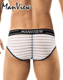 MANVIEW MV7001 Stretch Cotton Poko Brief White - Steveneven.com