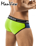 MANVIEW MV7005 Stretch Cotton Calor Brief Green - Steveneven.com
