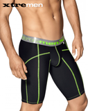 XTREMEN 51339 Sports Boxer with decorative Stitching Black - Steveneven.com