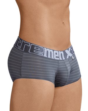 Xtremen 41310 Stripes Briefs Gray