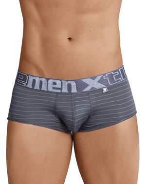 Xtremen 41310 Stripes Briefs Gray - StevenEven.com