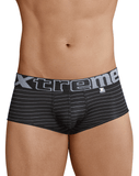 Xtremen 41310 Stripes Briefs Black - StevenEven.com