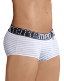 Xtremen 41310 Stripes Briefs White - StevenEven.com