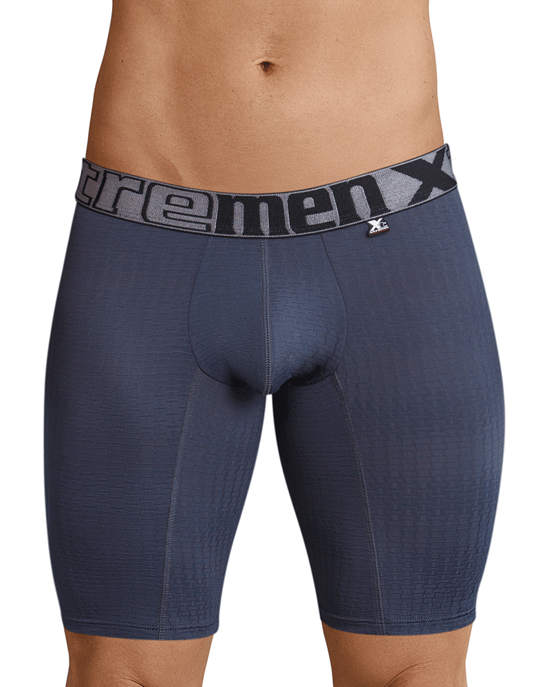 Xtremen 51436 Sports Boxer Briefs Gray