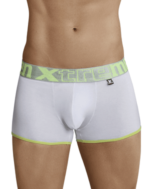 Xtremen 91027 Butt Lifter Boxer Briefs White