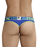 Xtremen 91031 Piping Thongs Blue