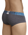 Xtremen 91034 Piping Briefs Dark Gray