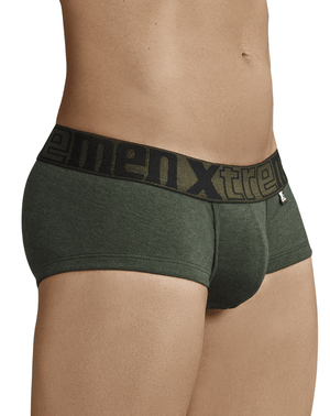 Xtremen 91034 Piping Briefs Green
