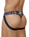 Xtremen 91060 Athletic Jockstrap Thongs Gray
