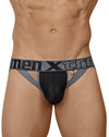 Xtremen 91060 Athletic Jockstrap Thongs Black