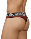 Xtremen 91063 Athletic Piping Thongs Red