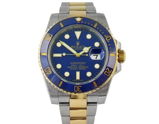 STEEL/GOLD SUBMARINER DATE